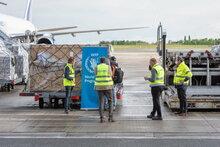 WFP의 코로나19 대응: 유엔의 신규 물류 터미널 가동 시작, 아프리카 지원 날개 달았다