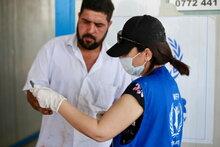 대한민국 정부, WFP 이라크 국내 실향민 지원에 60만 달러 공여